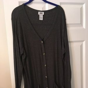 Sweaters - Monroe and Main size 3x grey duster